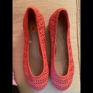 Eileen Fisher 8..5 Orange Shoes